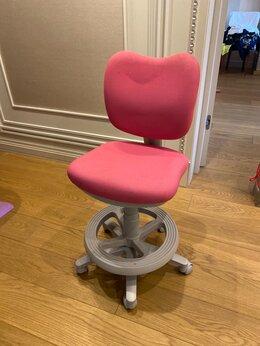 Компьютерные кресла - Компьютерное Кресло на колёсах розовое для девочки, 0