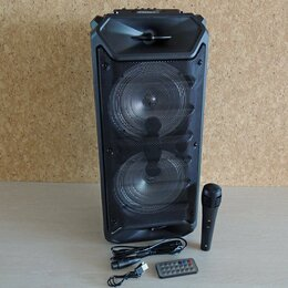 Портативная акустика - Акустическая система /FM/караоке, 0