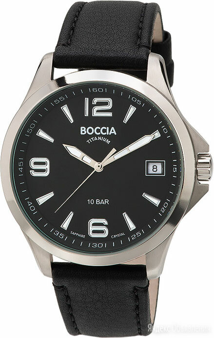 Наручные часы Boccia Titanium 3591-01 по цене 8910₽ - Наручные часы, фото 0