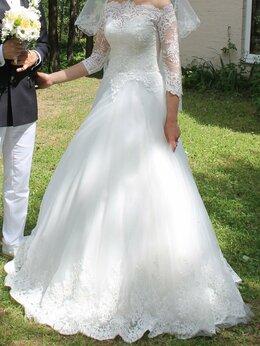 Платья - Свадебное платье 42-44 Итальянское, 0