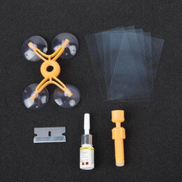 Масла, технические жидкости и химия - Набор для ремонта трещин и сколов на стекле, 0