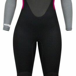 Защита и экипировка - Гидрокостюм женский HYPERFLEX Access 3/2mm BZ black/grey/pink-99, 8/M, 0