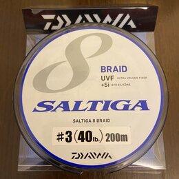 Леска и шнуры - Плетёный шнур Daiwa Saltiga 8 жильный #3 200m…, 0