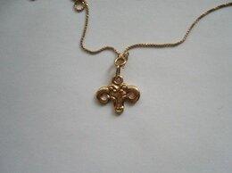 Кулоны и подвески - Кулон подвеска знак зодиака Телец золото 583 проба, 0