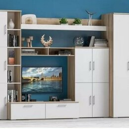 """Шкафы, стенки, гарнитуры - Модульная стенка """"Мальта"""", 0"""