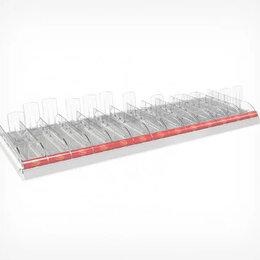 Прочее оборудование - Набор из 13 лотков для выкладки плиточного шоколада CHOCO-TRAY, длиной 1250 мм , 0