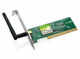 Сетевые карты и адаптеры - Wi-Fi адаптер PCI TP-Link TL-WN751ND, 0