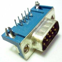 Компьютерные кабели, разъемы, переходники - Разъем последовательного порта 9 (4+5) pin, Male (вилка), 0