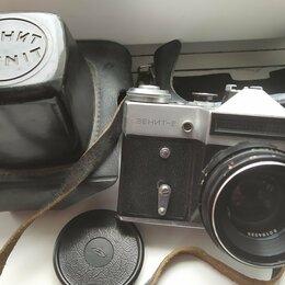 Пленочные фотоаппараты - Фотоаппарат Зенит-Е (1980 г.), 0