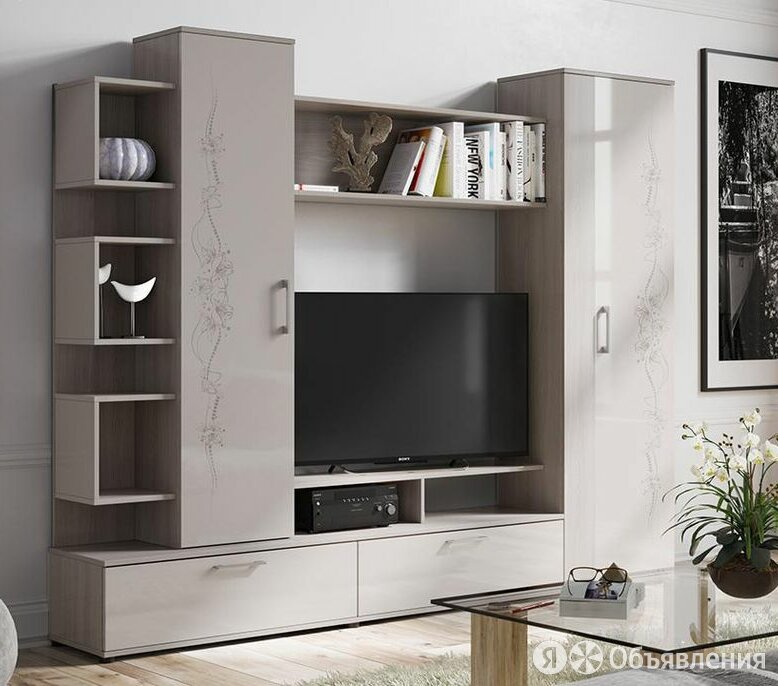 Стенка Кристи по цене 16299₽ - Шкафы, стенки, гарнитуры, фото 0