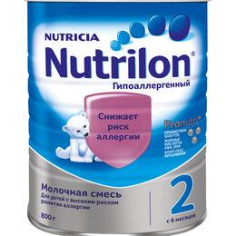 Детское питание - NUTRILON Гипоаллергенный 2 (800г) Смесь {с 6 мес} снижает риск развития Аллер..., 0
