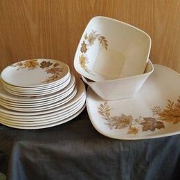 Сервизы и наборы - Набор пластиковой посуды., 0