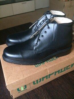 Ботинки - Армейские ботинки кожаные, 0