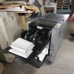 Полиграфическое оборудование - Буклетмейкер / брошюровщик Duplo DBM 120 от листоподборки Duplo DFC-12 , 0