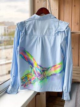 Блузки и кофточки - Рубашка с ручной росписью. Эксклюзивная работа.…, 0