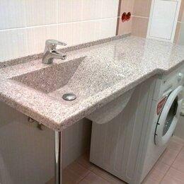 Кухонные мойки - Раковина-столешница для ванной комнаты из искусственного камня , 0