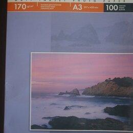 Бумага и пленка - Фотобумага Lomond A3 170 g/m2 матовая двусторонняя., 0