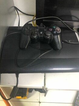 Игровые приставки - Игровая приставка Sony PS3 500Gb Super Slim б/у, 0