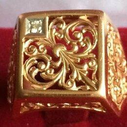 Кольца и перстни - золотая печатка 10/585*, 0