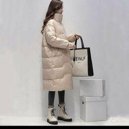 Куртки - Женская куртка на белом утином пуху, 0