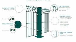 Заборы и ворота - Забор из 3D сетки от производителя, 0