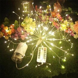 Новогодний декор и аксессуары - украшение для дома. Рождественские огни 120led, 0