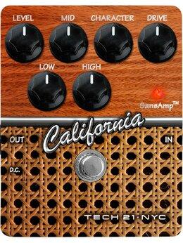 Процессоры и педали эффектов - Педаль Tech 21 CS-CA California CS, 0