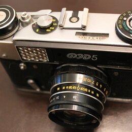 Пленочные фотоаппараты - Фотоаппарат CCCР ФЭД-5, 0