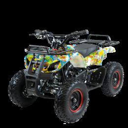 Электромобили - Детский квадроцикл Motax (Мотакс) ATV Mini Grizlik X - 16 [эл] Big Wheel (машин, 0