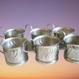 Посуда -  Подстаканники: Sonnau. ГДР, латунный никелированный , для МПС  СССР, 0