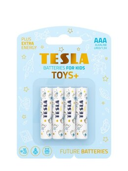 Батарейки - Батарейки TESLA AAA TOYS BOY Alkaline (LR03/блисте, 0