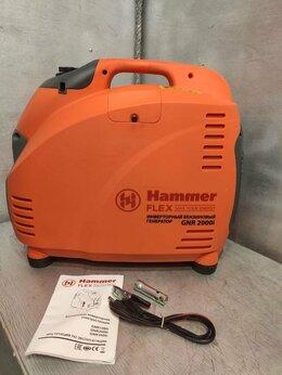 Электрогенераторы - Бензоэлектростанция Hammer Flex GNR2000i , 0