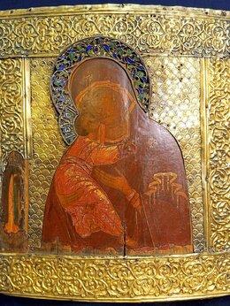 Иконы - Икона Богоматерь Владимирская    , 0