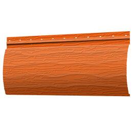 Сайдинг - Сайдинг Бревно Рубленое 4Д RAL2004 Апельсин 32х230хПМ, 0