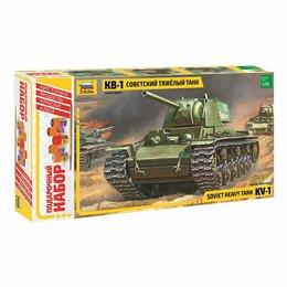 Рукоделие, поделки и товары для них - Сборная модель Тяжелый советский танк КВ-1…, 0