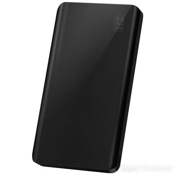 _d_Внешний аккумулятор Xiaomi Mi ZMI 10000 mAh (чёрный) по цене 1350₽ - Универсальные внешние аккумуляторы, фото 0