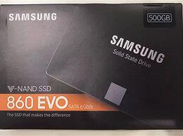 Внутренние жесткие диски - новый SSD диск samsung 500гб гарантия, 0