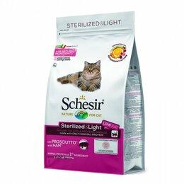 Корма  - Schesir сухой корм для кошек в ассортименте, 0