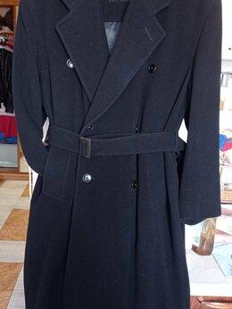Пальто - Двубортное мужское кашемировое пальто (Франция) , 0