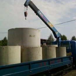 Железобетонные изделия - Кольца бетонные (ЖБИ) по ГОСТ 8020-90 с доставкой/установкой, 0