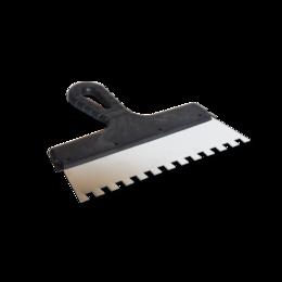 Шпатели - Шпатель 10х10 мм, 250 мм, зубчатый , 0