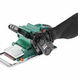 Шлифовальные машины - Ленточная шлифовальная машинка HAMMER Flex LSM800B (новая), 0