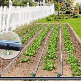 Шланги и комплекты для полива - Капельная эмиттерная лента полив огорода КЛ длина 100 метров шаг 30 см, 0
