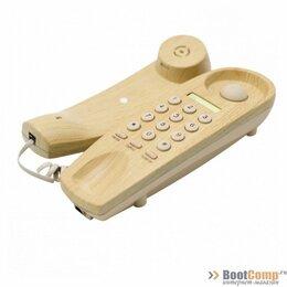 Проводные телефоны - Телефон Ritmix RT-005 light wood, 0