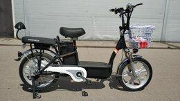 Мототехника и электровелосипеды - Электровелосипед с 2 батареями, 0