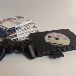 Игровые приставки - Playstation 2 + Игры, 0