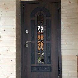 Входные двери - Входная дверь со стеклом для загородного, 0