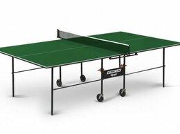 Столы - Теннисный стол Start Line Olympic с сеткой green, 0