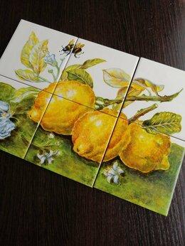 Керамическая плитка - Панно на керамической плитке с ручной росписью, 0