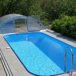 Бассейны - Пластиковый круглый бассейн, 0